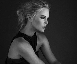 Charlize Theron and blonde image