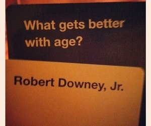 robert downey jr, funny, and age image