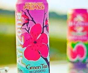 drink, arizona, and tea image