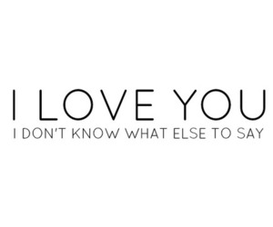 quote, I Love You, and love image