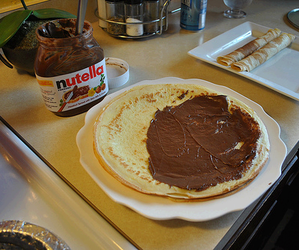 awesome, nutella, and food image