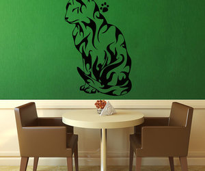 black, etsy, and wall decal image