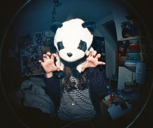panda, girl, and jennifer heilbronn image