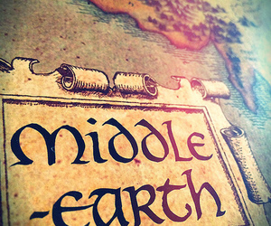 middle earth, LOTR, and tolkien image