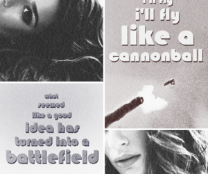 battlefield, lea michele, and cannonball image