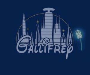 doctor who, gallifrey, and disney image