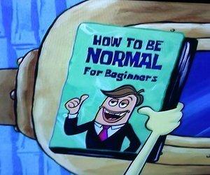 normal, spongebob, and funny image