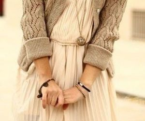 dress, hands, and kind image
