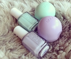 cosmetics, nail, and eos image