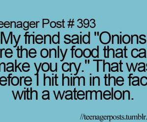 cry, friend, and onions image