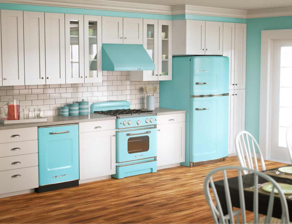 Tiffany Blue Kitchen Appliances Discovered By Ashlie Jones