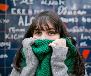 paris, scarf, and melina souza image