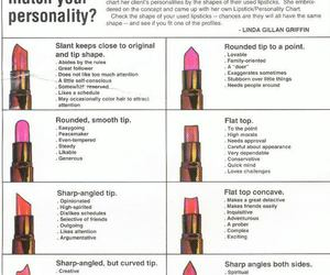 lipstick and personality image