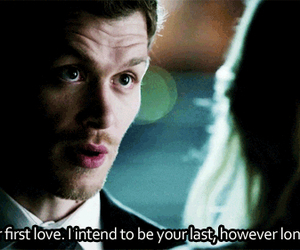 love, klaus, and the vampire diaries image