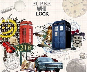 doctor who, sherlock, and spn image