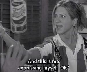 express and Jennifer Aniston image