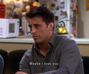 love, friends, and Joey image
