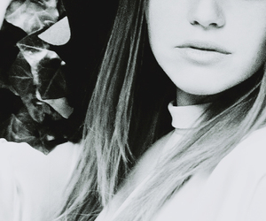 holland roden, teen wolf, and black and white image