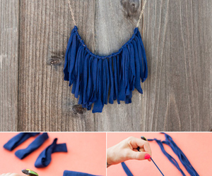 blue, diy, and look image