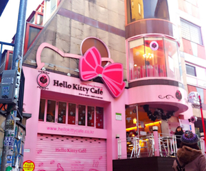 cafe, hello, and pink image