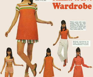 vintage, 60s, and dress image