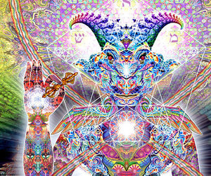 art, psychedelic, and dmt image