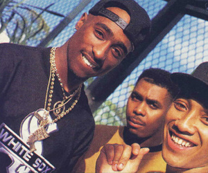 tupac, 2pac, and rap image