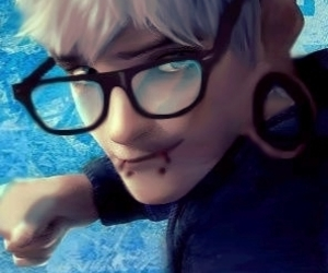 jack frost, punk, and disney character punk image