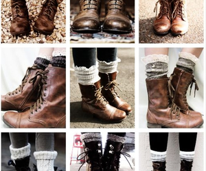 boots, style, and combat boots image