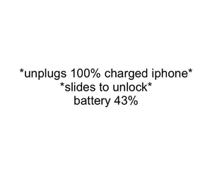 100%, battery, and charge image
