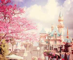 castelo, Dream, and pink image