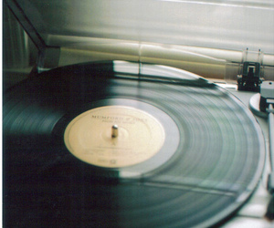 disc, music, and vintage image