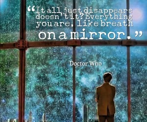 dr who and quote image