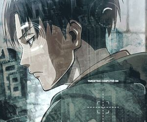 anime, boy, and levi image