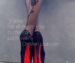 christian, louboutin, and quotes image