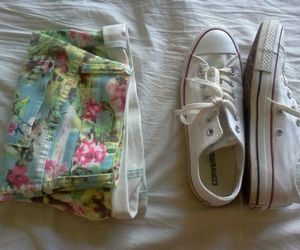 converse, fashion, and shorts image