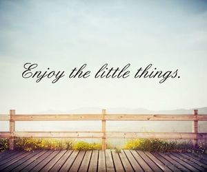 quote, little, and things image