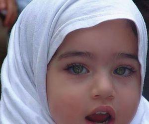islam, hijab, and baby image