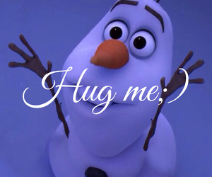 frozen, lovely, and hugme image