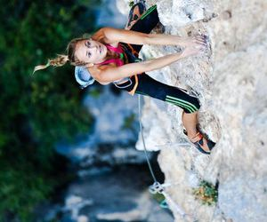 fitness, inspiration, and mountain climbing image