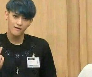 kpop, Chen, and exom image