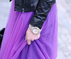 beautiful, purple skirt, and pretty purple maxi skirt image