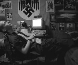 american history x, Edward Furlong, and hitler image
