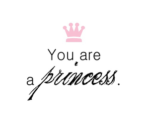 princess, quote, and pink image