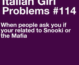 girl, italian, and problems image