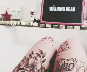 ink, inked, and walkingdead image