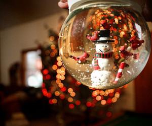 christmas, snowman, and snow image