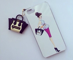 iphone, bag, and style image