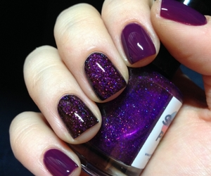 cosmos, lights, and manicure image