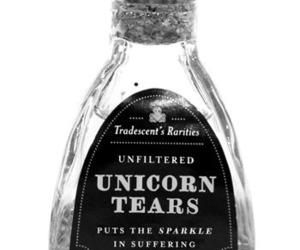 unicorn, tears, and unicorn tears image